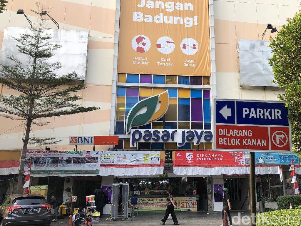 Ada Pedagang Positif Corona, Pasar Mayestik Tutup 3 Hari