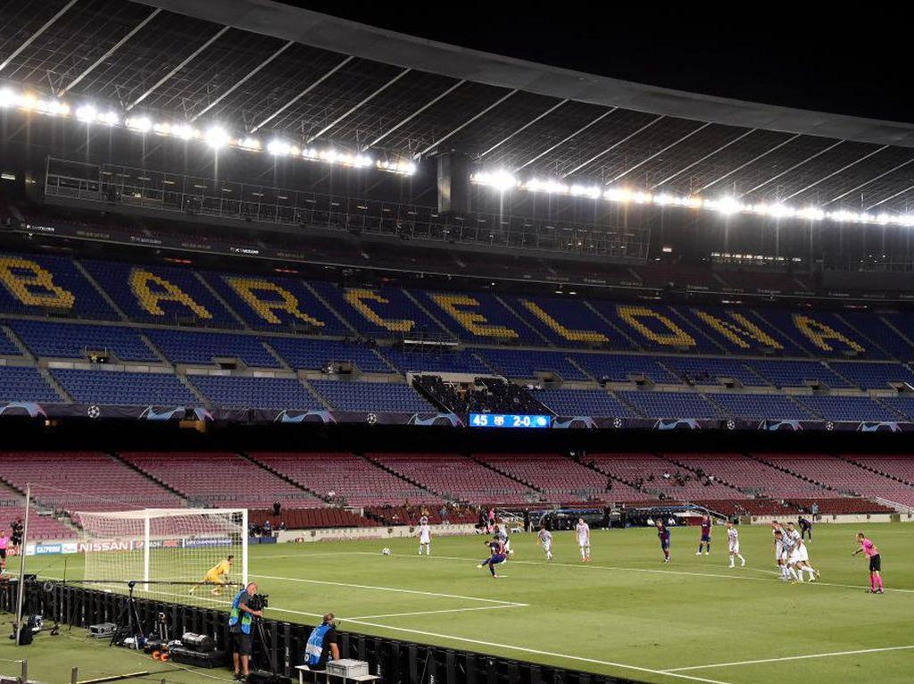 Keangkeran Camp Nou Masih Terjaga