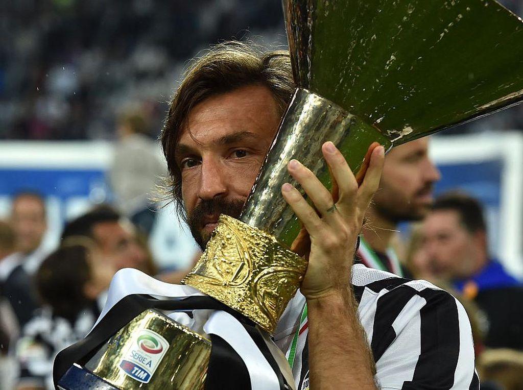 Andrea Pirlo Jadi Pelatih Juventus, Ini Aksinya saat Masih Main