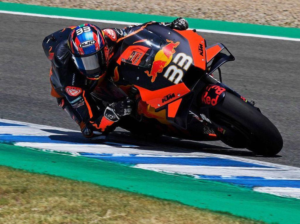 Video Kejutan Brad Binder, Tercepat di FP2 MotoGP Emilia Romagna