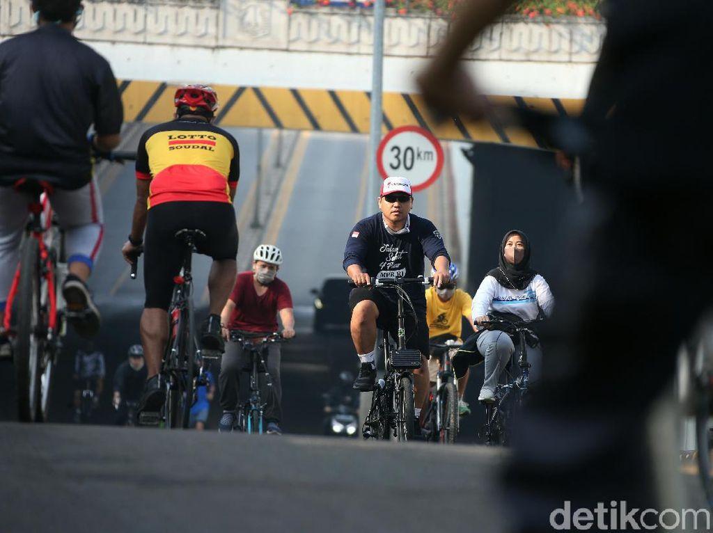 Membandingkan Alasan Pemprov DKI Tutup-Buka Kawasan Sepeda Berselang 2 Pekan