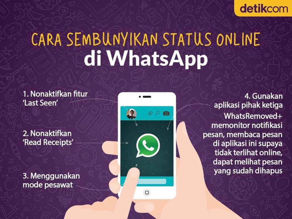Ini Cara Sembunyikan Status Online di WhatsApp