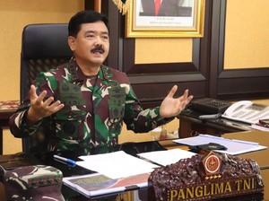 Panglima TNI Mutasi 50 Perwira Tinggi, Ini Daftarnya