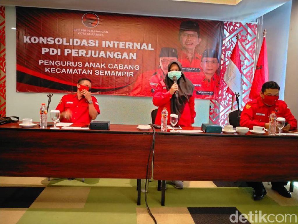 PDIP Surabaya Rapatkan Barisan Jelang Pengumuman Rekomendasi Calon Wali Kota