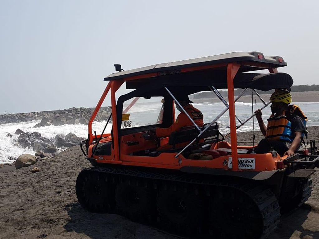 Pencarian 1 Wisatawan Hanyut di Pantai Goa Cemara Hari Keempat Nihil
