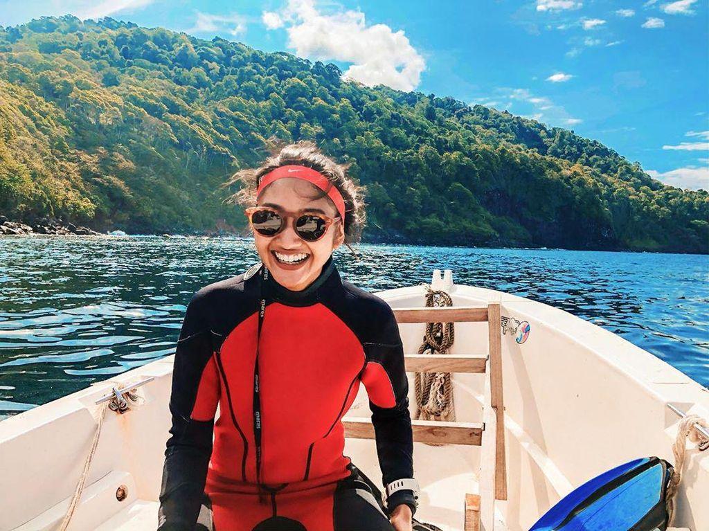 Pulau Weh Aceh, Spot Diving Favoritnya Claresta Taufan