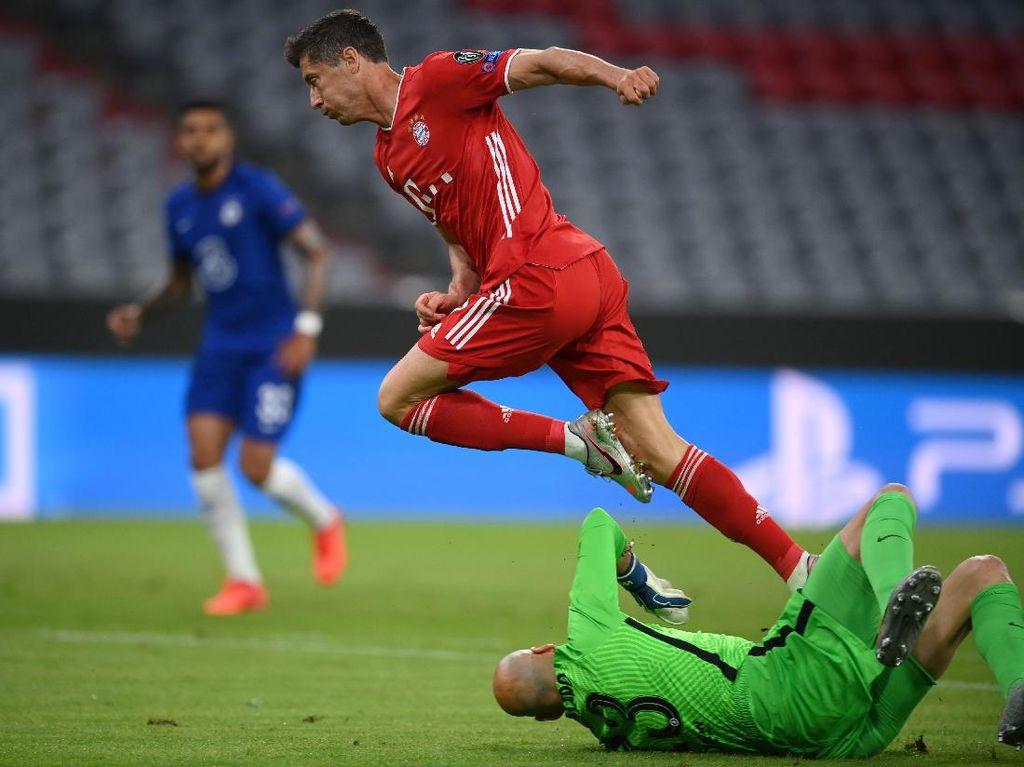 Lewandowski Ogah Pikirkan Rekor Gol Liga Champions