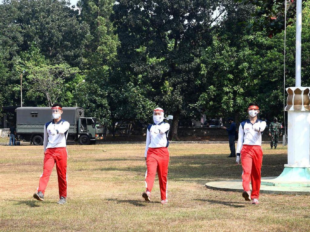 Paskibraka Istana Merdeka Diminta Tes Swab Sebelum Balik ke Daerah