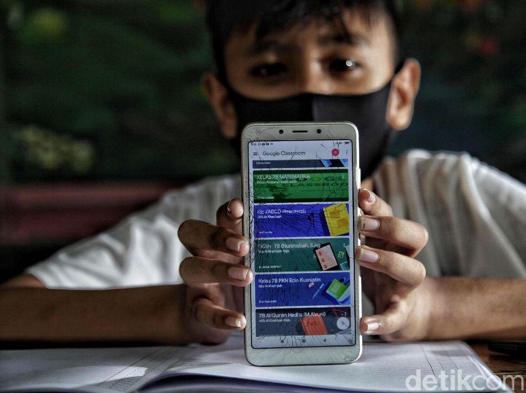 Sekolah Online Diprediksi Dongkrak Pembelian HP 3 Kali Lipat