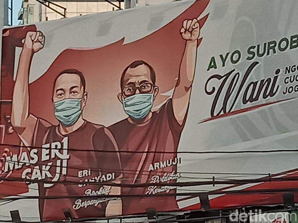 Rekom PDIP di Pilkada Surabaya Jatuh ke Eri-Armuji