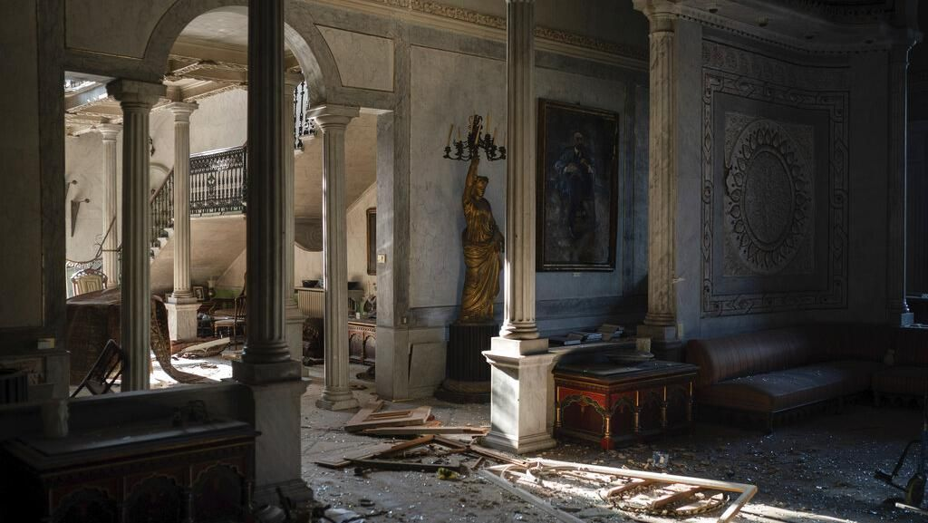 Ledakan Lebanon Bikin Bangunan Berusia 160 Tahun Ini Rusak