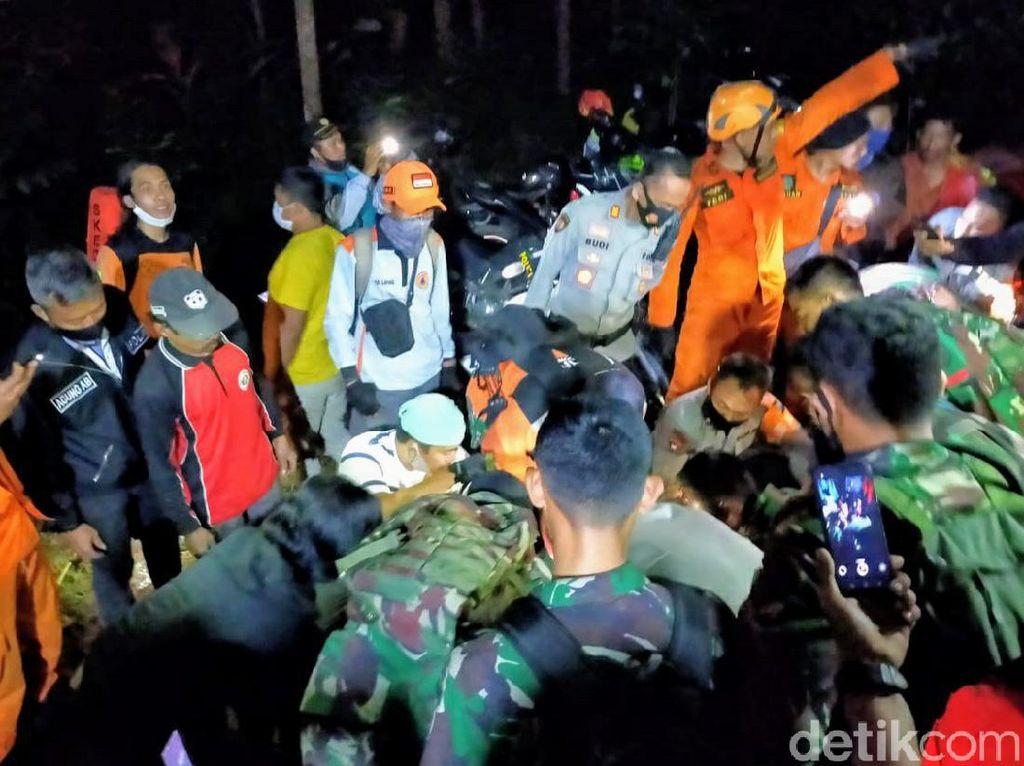 Multazam Pelajar Tewas Terjatuh di Bukit Piramid Sudah Dievakuasi