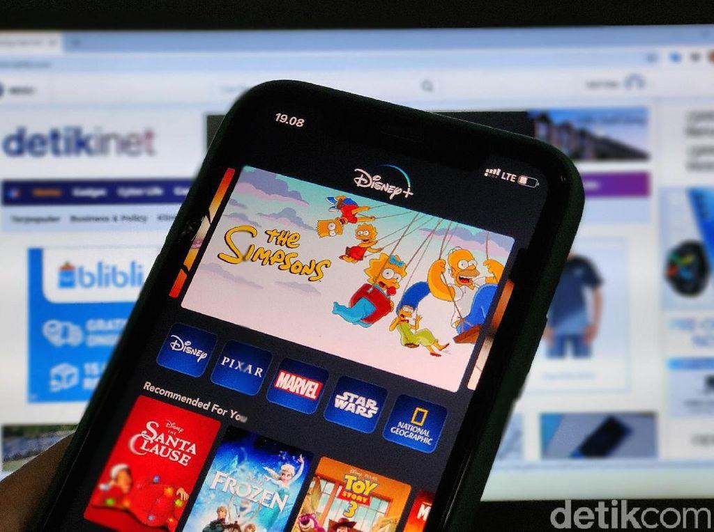 Perbandingan Tarif Disney+ Hotstar dengan Netflix Cs