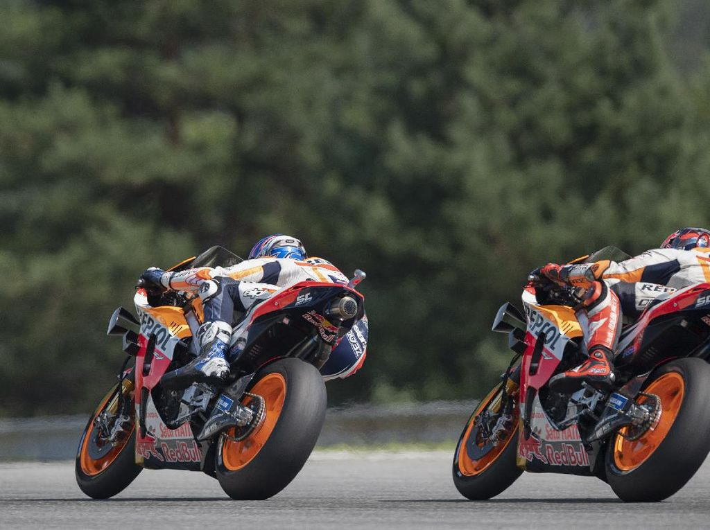 Remuk di MotoGP Ceko, Repsol Honda Sulit Cari Sisi Positifnya