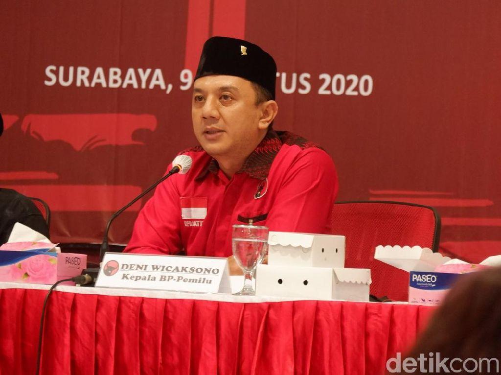 Paslon PDIP Tumbang di 8 Kabupaten/Kota Jatim Menurut Hasil Hitung Cepat