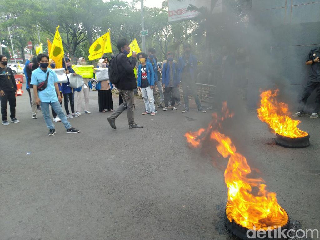 Mahasiswa di Bogor Demo Lagi, Tuntut Transparansi Anggaran COVID