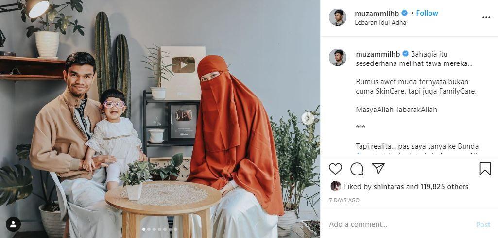 Rahasia Bahagia dan Awet Muda Muzammil Hasballah & Istri