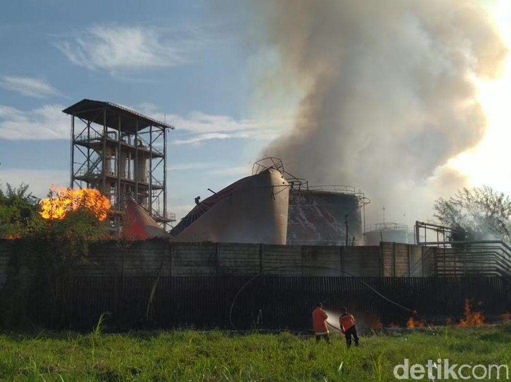 Ini Kesimpulan Polisi Penyebab Ledakan di Pabrik Bioetanol Mojokerto