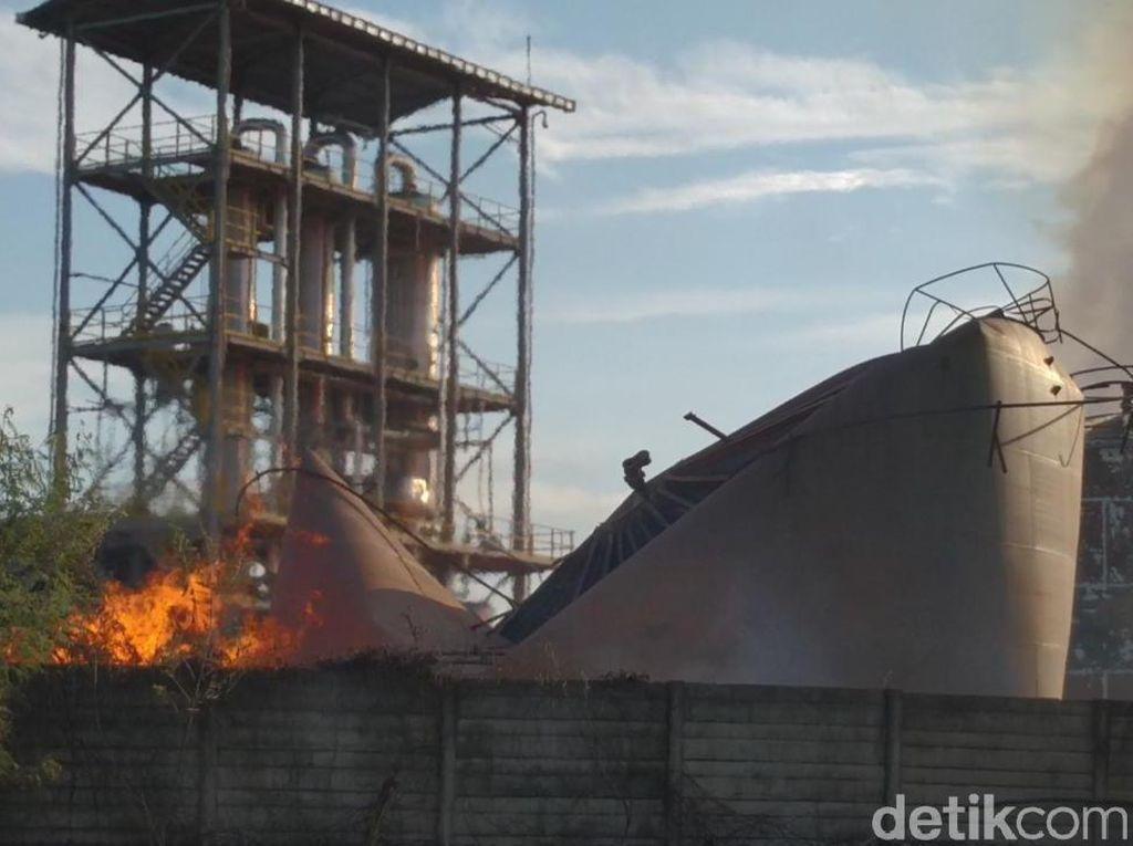 Video: Ledakan Pabrik Bioetanol di Mojokerto Tewaskan Satu Orang