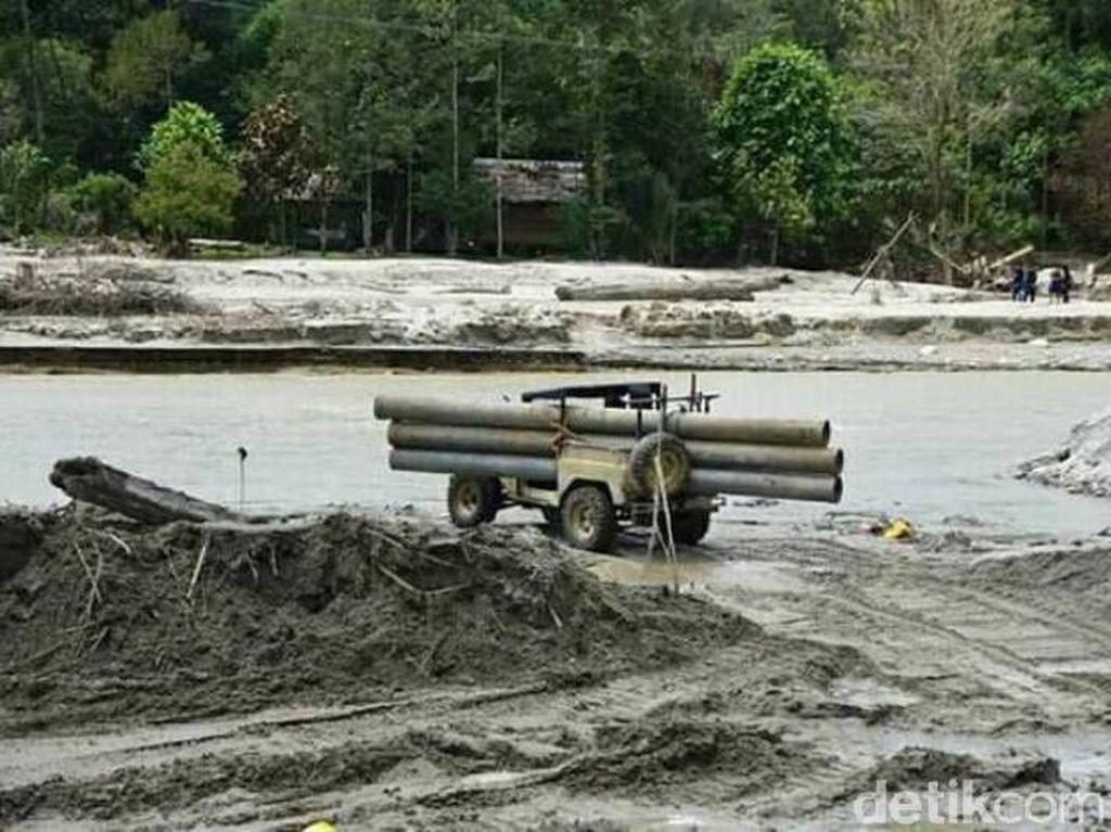 Atasi Kebutuhan Air, 257 Pipa Dipasang Pascabanjir Bandang Masamba
