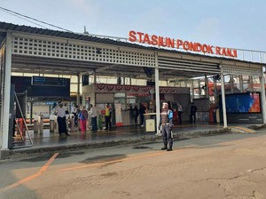 Stasiun Pondok Ranji Dipugar Ulang, Ditarget Kelar April 2021