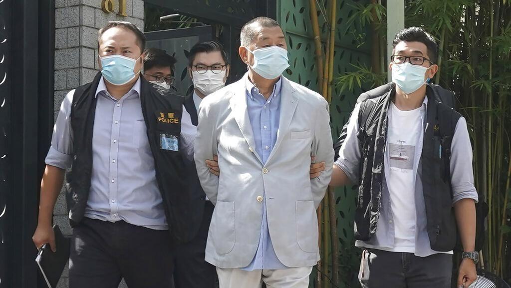 Pengusaha Media Pro-Demokrasi Hong Kong Dibekuk Polisi