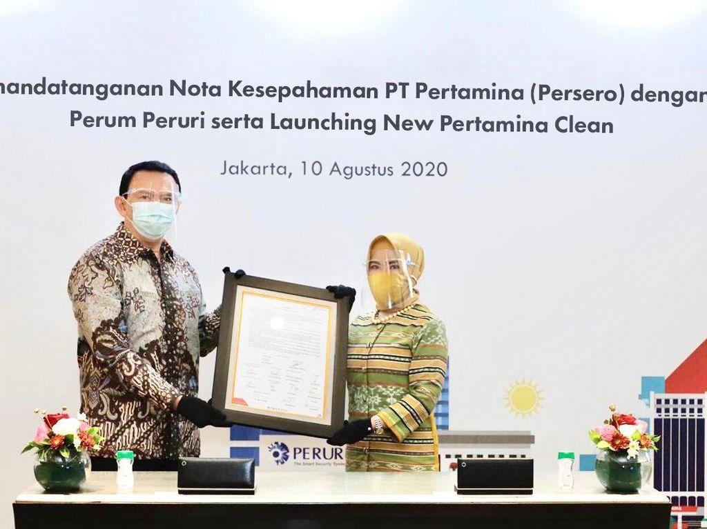 New Pertamina Clean Diluncurkan, Usung Tata Nilai AKHLAK BUMN