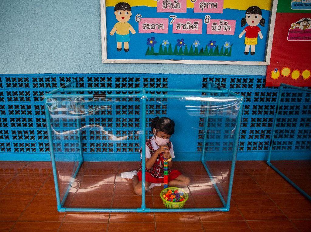 Seperti Ini Anak-anak TK di Thailand Bermain