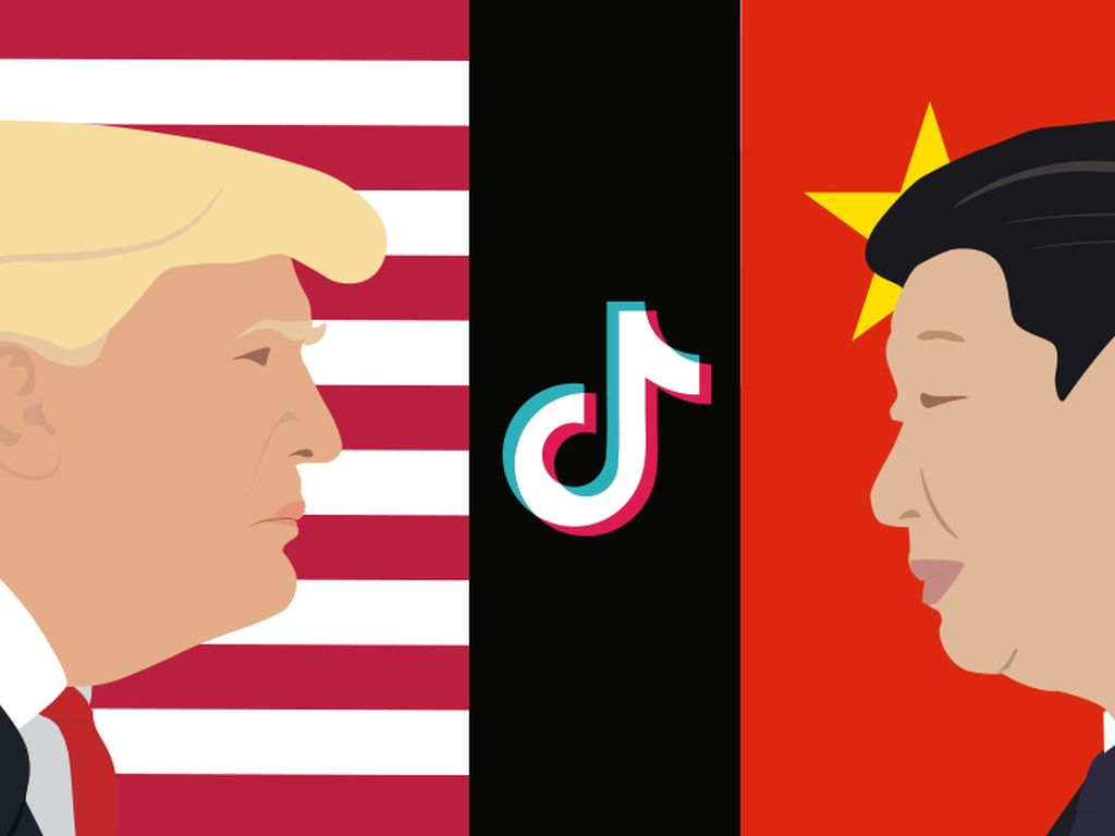 China Sebut CIA Bantah Tudingan Trump Soal TikTok