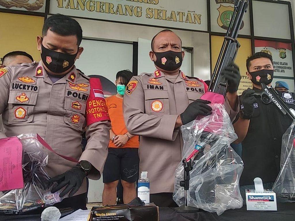 Polisi Selidiki Penjual Airsoft Gun ke Pelaku Penembakan di Tangerang