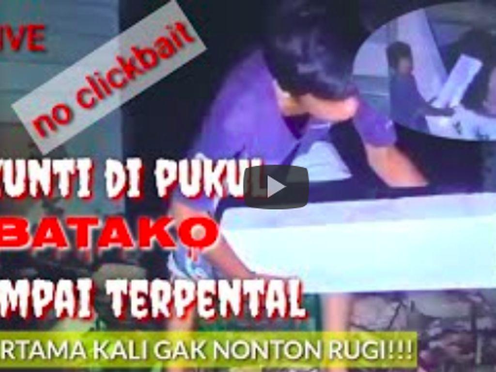 4 Video Gebuk Setan yang Sempat Trending, Pakai Batako sampai Panci