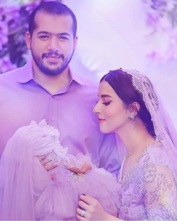 Beauty vlogger Tasya Farasya menggelar acara tasyakuran akikah anak pertamanya, Maryam Eliza Khair, pada Minggu, 9 Agustus 2020.