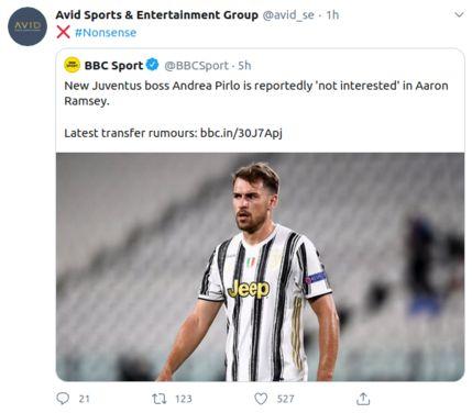 aaron ramsey juventus rumor transfer bursa transfer