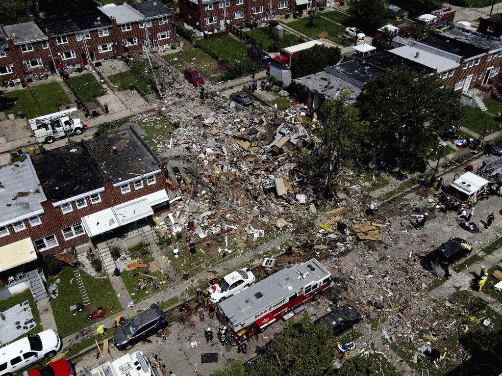 Ledakan Besar Guncang Permukiman AS, 1 Orang Tewas dan 7 Luka-luka