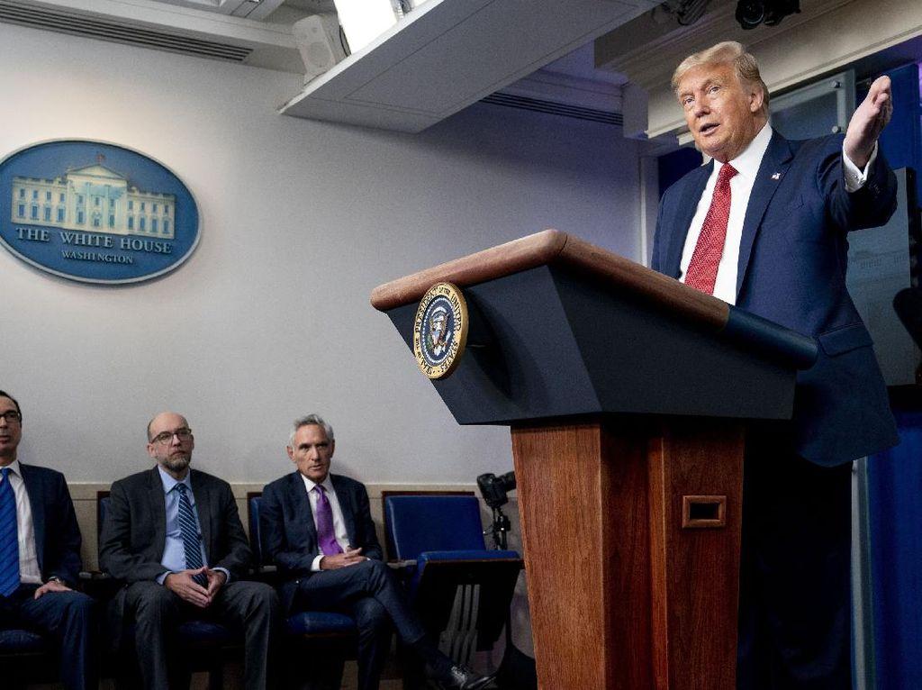 Trump Klaim Selamatkan 51 Juta Pekerja Selama Pandemi, Benarkah?