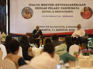 Menaker dan Pelaku Pariwisata Dialog Cari Solusi Hadapi Pandemi