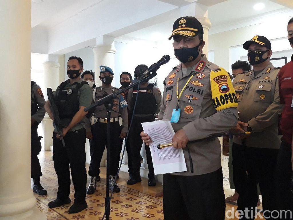 Kapolda Jateng Buru 3 DPO Penyerang Acara Doa Pernikahan di Solo