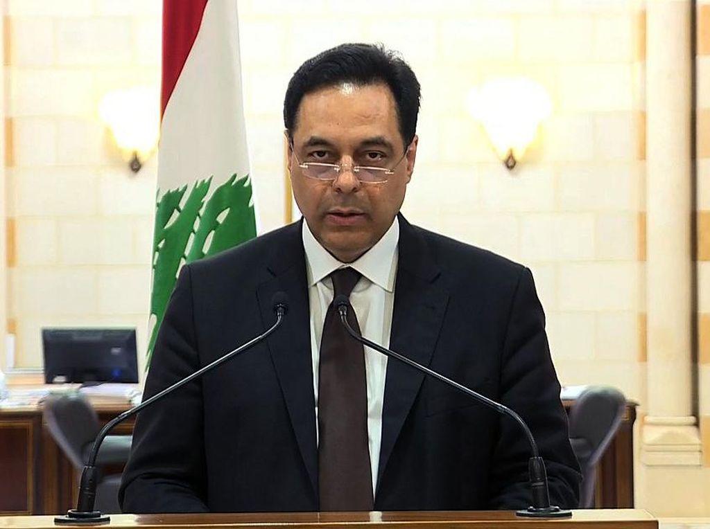 Video PM Lebanon Sampaikan Pengunduran Diri
