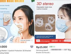 Viral Cangkang Masker Biar Tak Kena Lipstik, Ganggu Fungsi Nggak Sih?