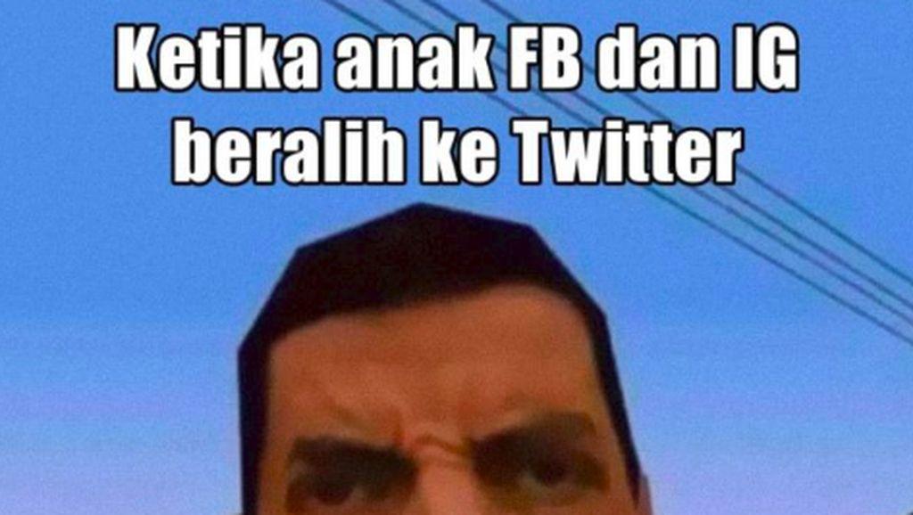 Meme Beda Anak Twitter VS Anak Instagram, Kamu yang Mana?