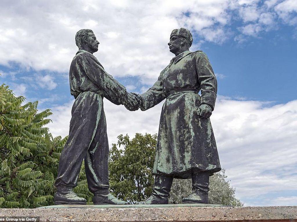 Foto: Penampakan Taman Komunis di Hungaria