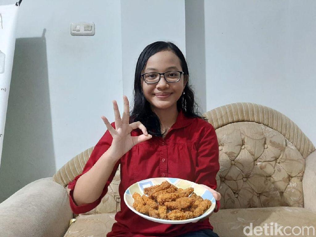 Pelajar di Surabaya Sulap Kulit Pisang Jadi Nugget dan Pupuk Cair