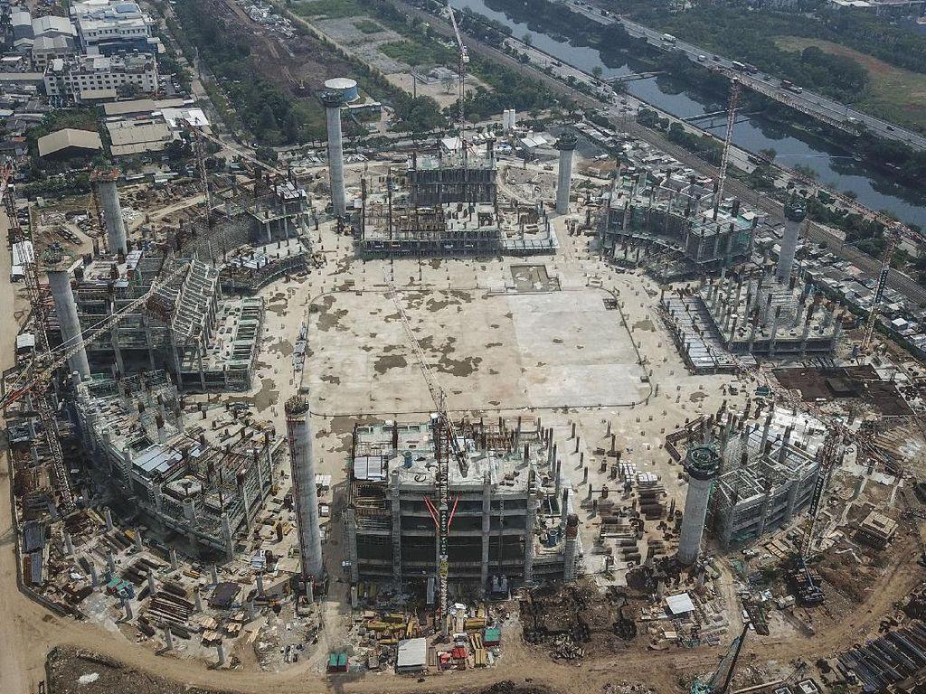 Capai 25,3 Persen Begini Progres Terkini Stadion BMW