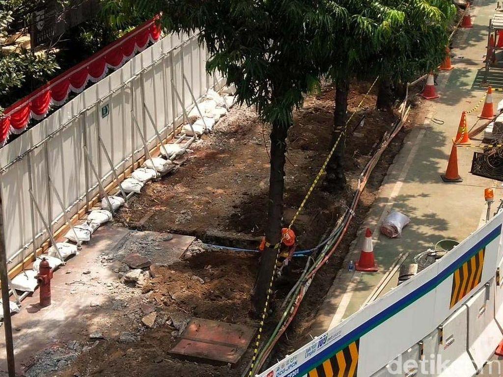 Mau Dikemanakan Pohon yang Dicabut Imbas Proyek MRT Fase II?