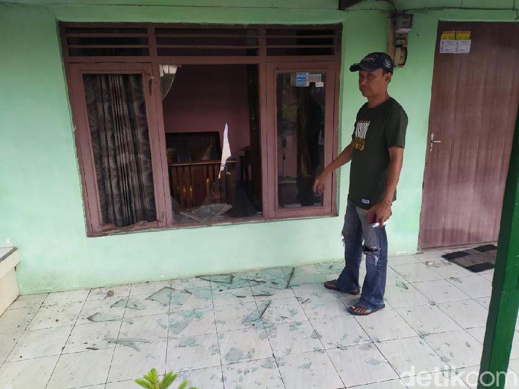 57 Rumah Warga Rusak Dampak Ledakan Pabrik Bioetanol di Mojokerto