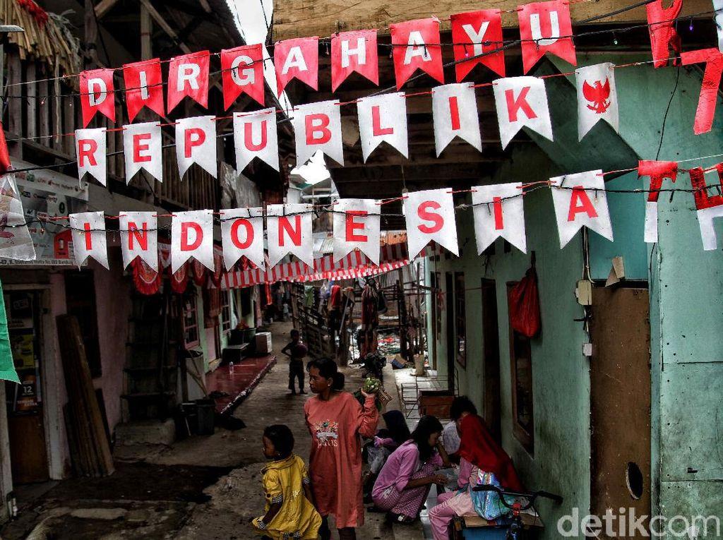 Semarak Kampung Nelayan Sambut Hari Kemerdekaan