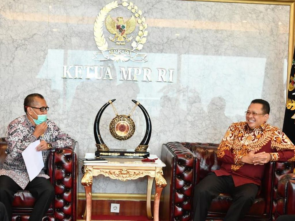 Guna Tegakkan Etik Lembaga, Ketua MPR Dukung Lahirnya Mahkamah Etik