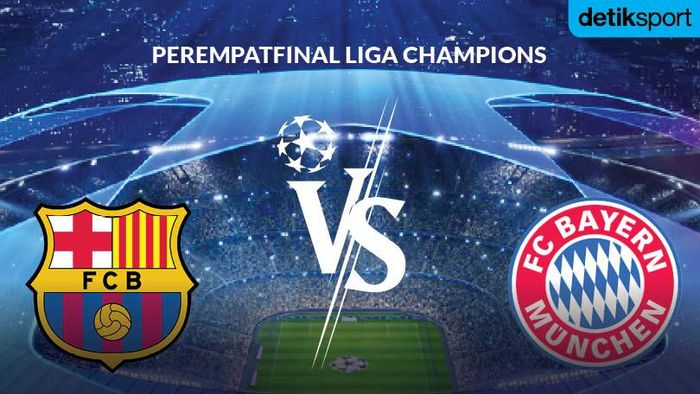 Liga Champions: Barca Vs Bayern