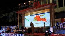 Ekspos Hasil Survei Pengendalian COVID-19 di Jatim, Surabaya Zona Oranye