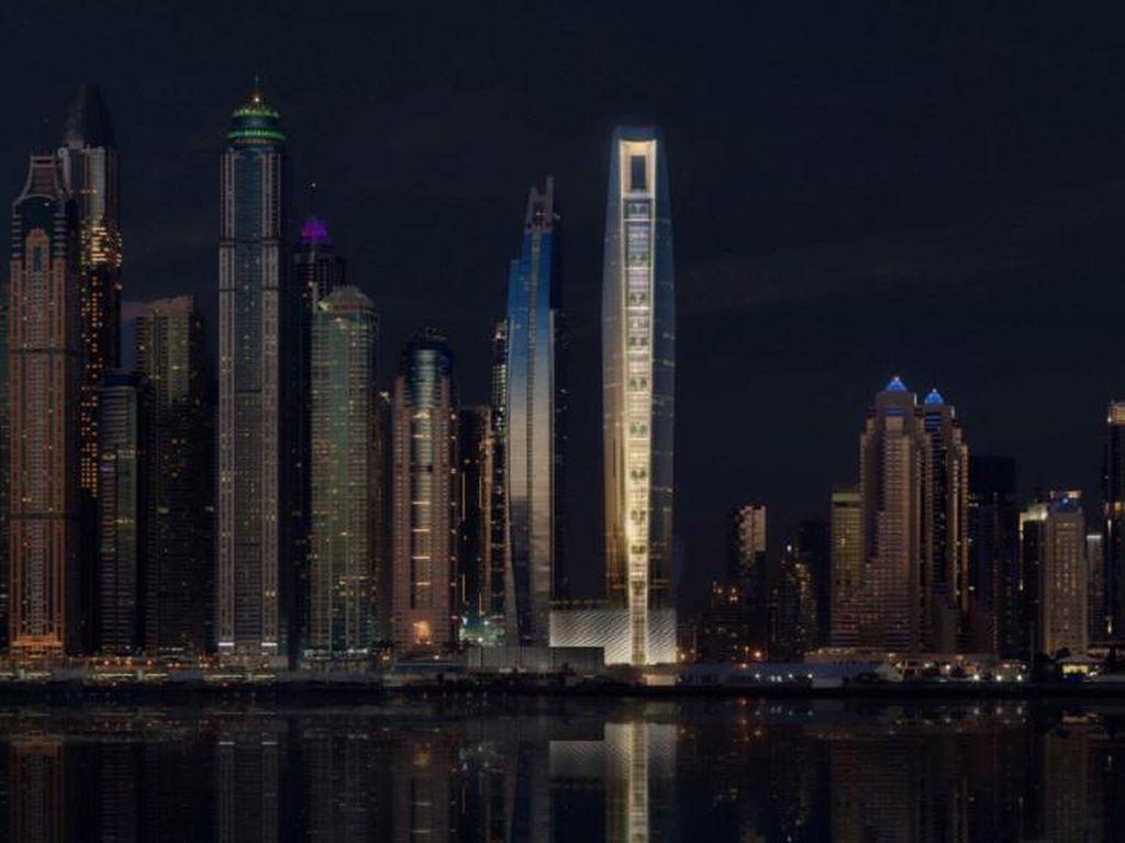 Kalahkan Gevora, Hotel Ini Akan Menjadi yang Tertinggi di Dunia